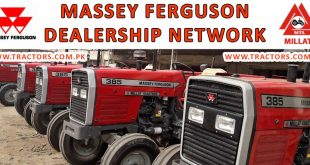 Massey Ferguson Millat Tractors Dealership Network IN pUNJAB