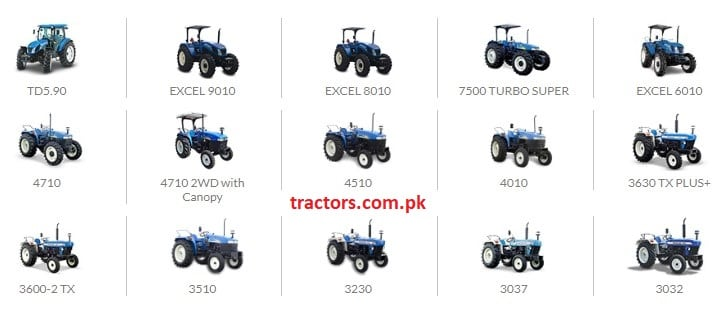 New Holland Tractors India Price List 2018