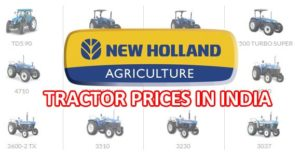 New Holland Tractors India Price List 2018 – All Models