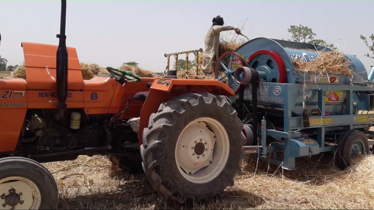Wheat Thresher Machine