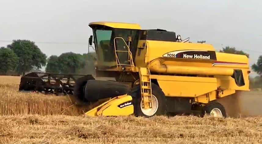 New Holland TC 56 Combine Harvester price